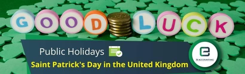 Saint Patrick's Day in the United Kingdom