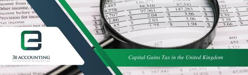 Capital Gains Tax in the United Kingdom