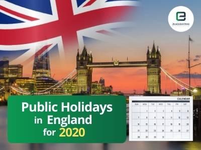 England Public Holidays 2020