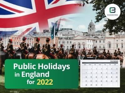 England Public Holidays 2022